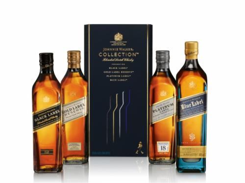 JOHNNIE WALKER COLLECTION PACK 4x200ML