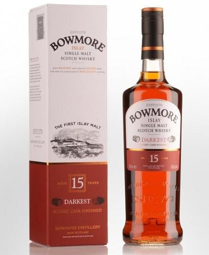 BOWMORE 15YO DARKEST 700ML