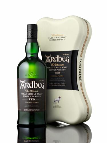 ARDBEG 10YO ARDBONE PACK 700ML
