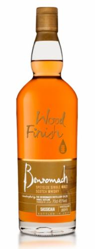 BENROMACH SASSICAIA WOOD FINISH 2010 700ML
