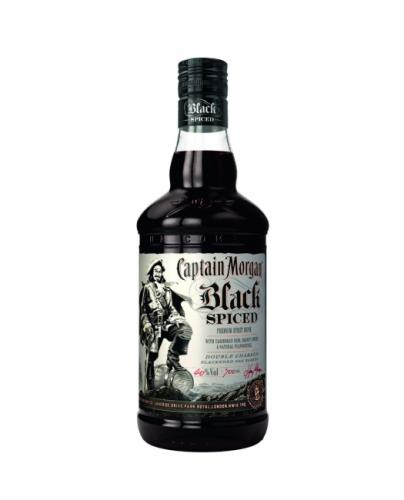 CAPITAN MORGAN BLACK SPICED 700ML