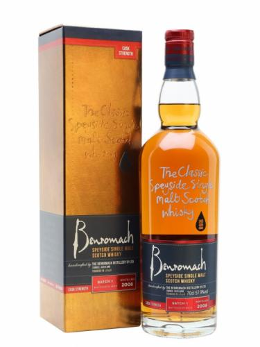 BENROMACH 2008 SINGLE CASK 700ML