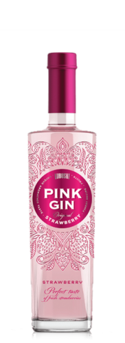 LUBUSKI PINK GIN STRAWBERRY 500ML
